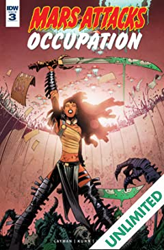 Mars Attacks: Occupation #3 (of 5)
