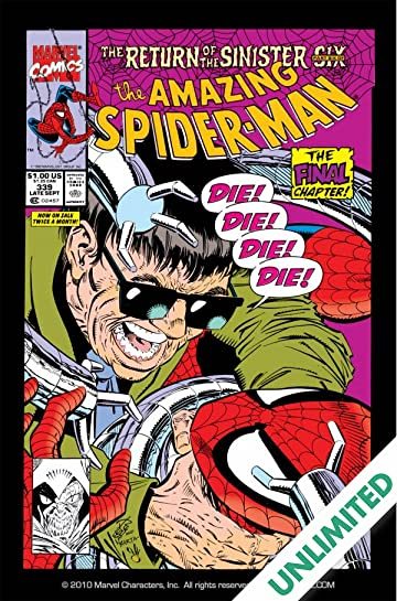 Amazing Spider-Man (1963-1998) #339