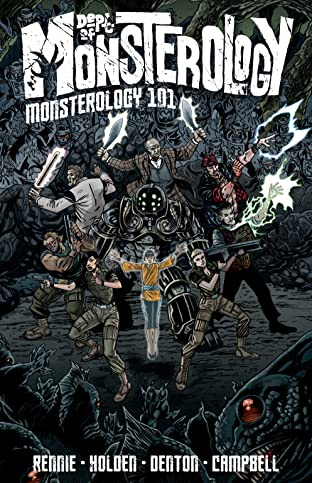 Dept. of Monsterology Tome 1: Monsterology 101