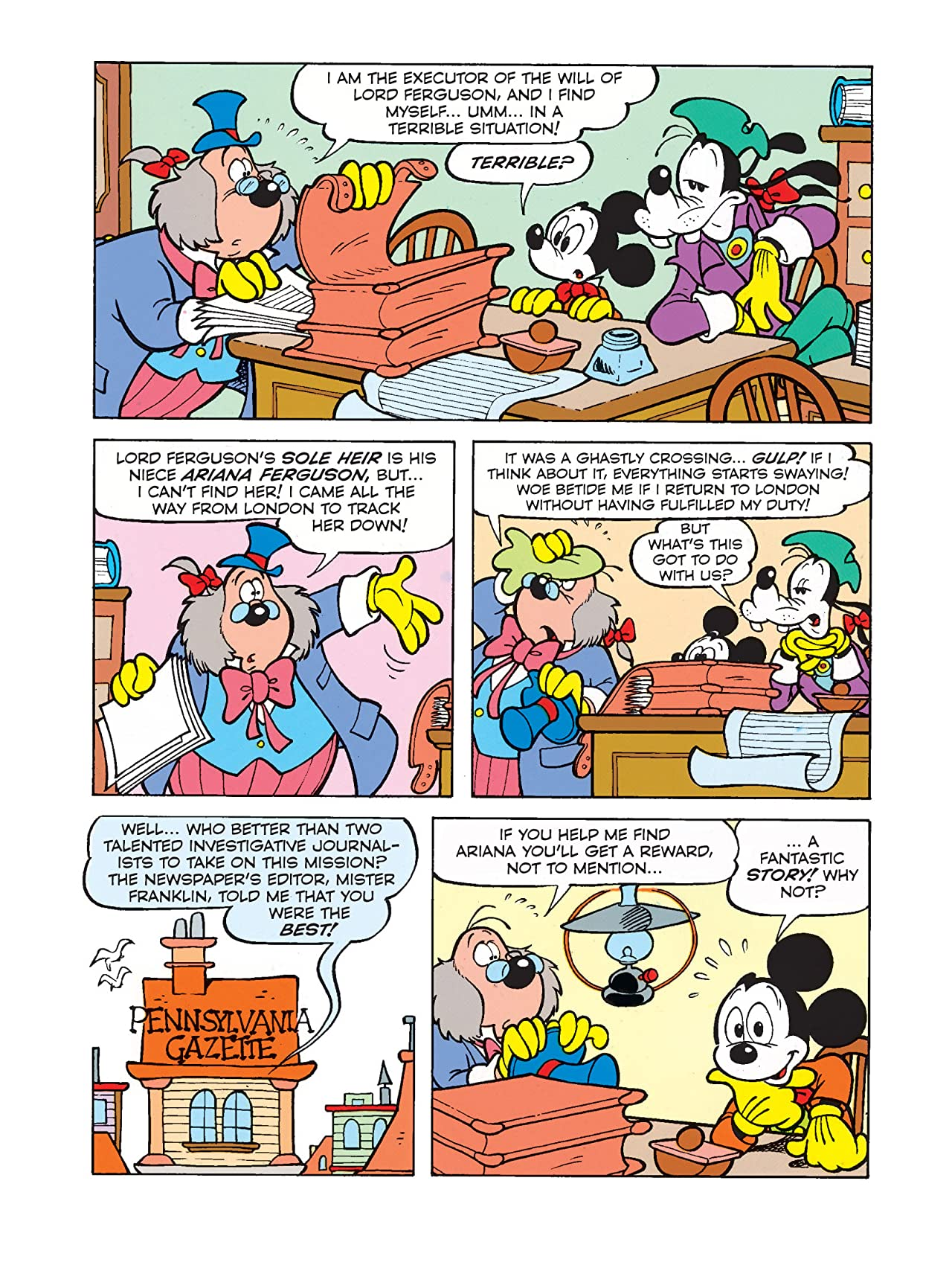 Once Upon a Time... in America #5: Mickey Mouse and the Second-to-Last of the Mohicans