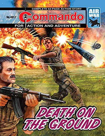 Commando #4917: Death On The Ground