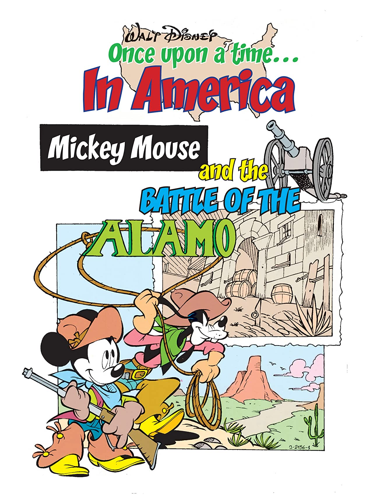 Once Upon a Time... in America #7: Mickey Mouse and the Battle of the Alamo