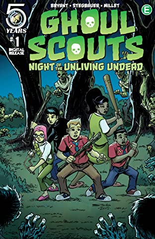Ghoul Scouts: Night of the Unliving Undead No.1