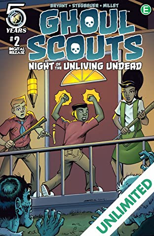 Ghoul Scouts: Night of the Unliving Undead #2