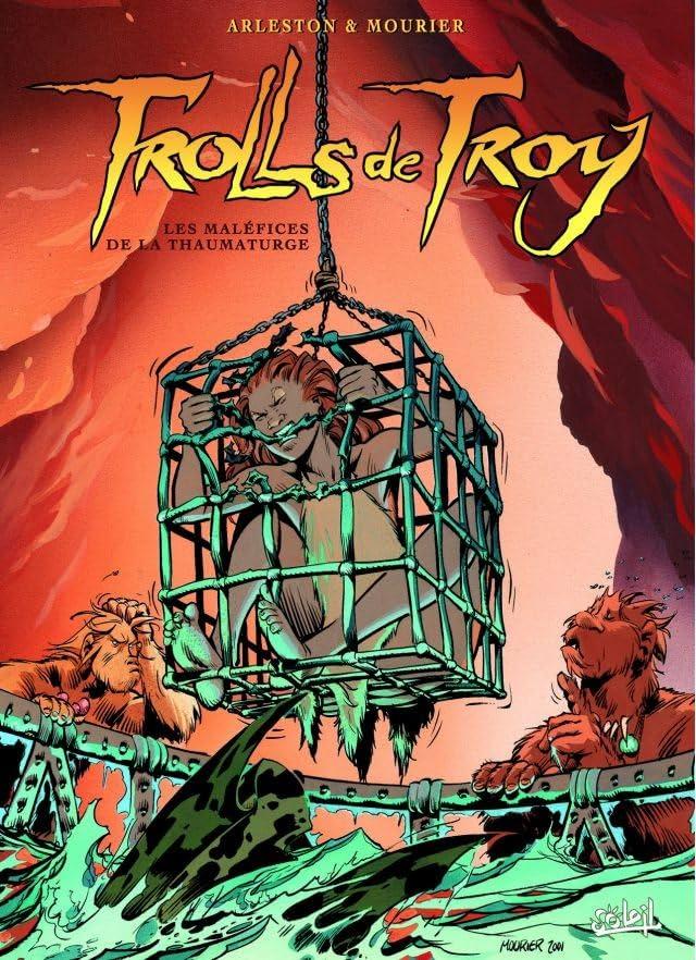 Trolls de Troy Vol. 5: Les maléfices de la Thaumaturge