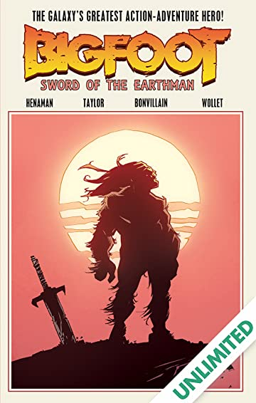 Bigfoot: Sword of the Earthman Vol. 1