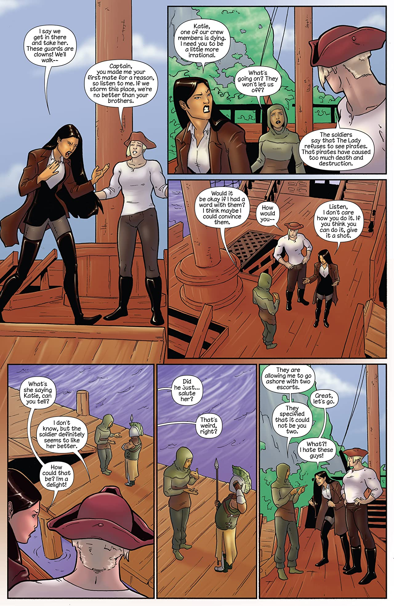 Princeless- Raven: the Pirate Princess #10