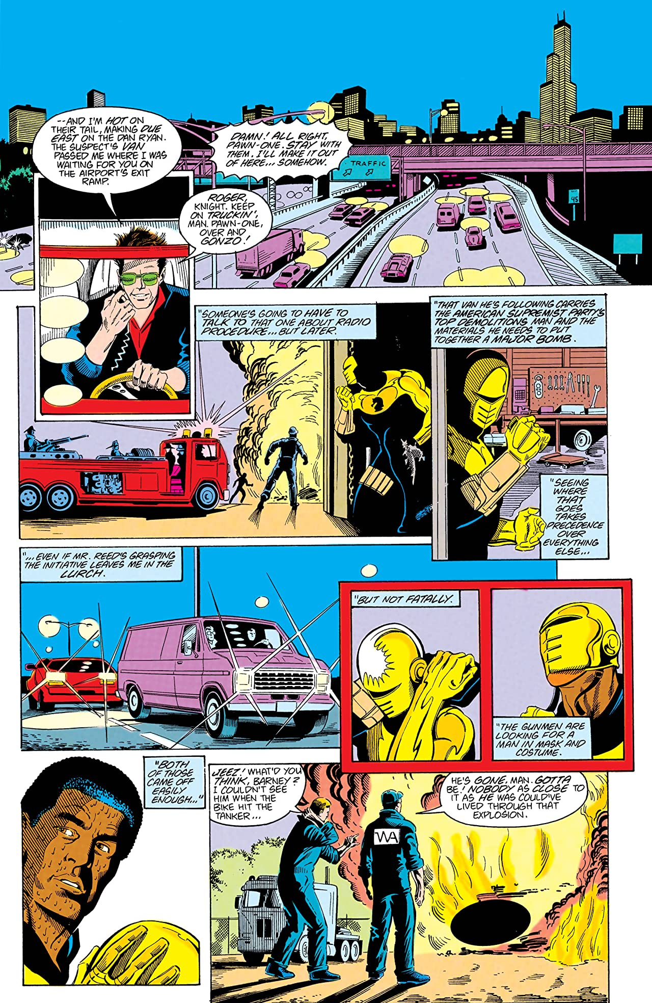 Checkmate (1988-1991) #3