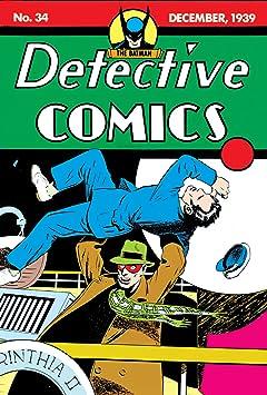 Detective Comics (1937-2011) No.34