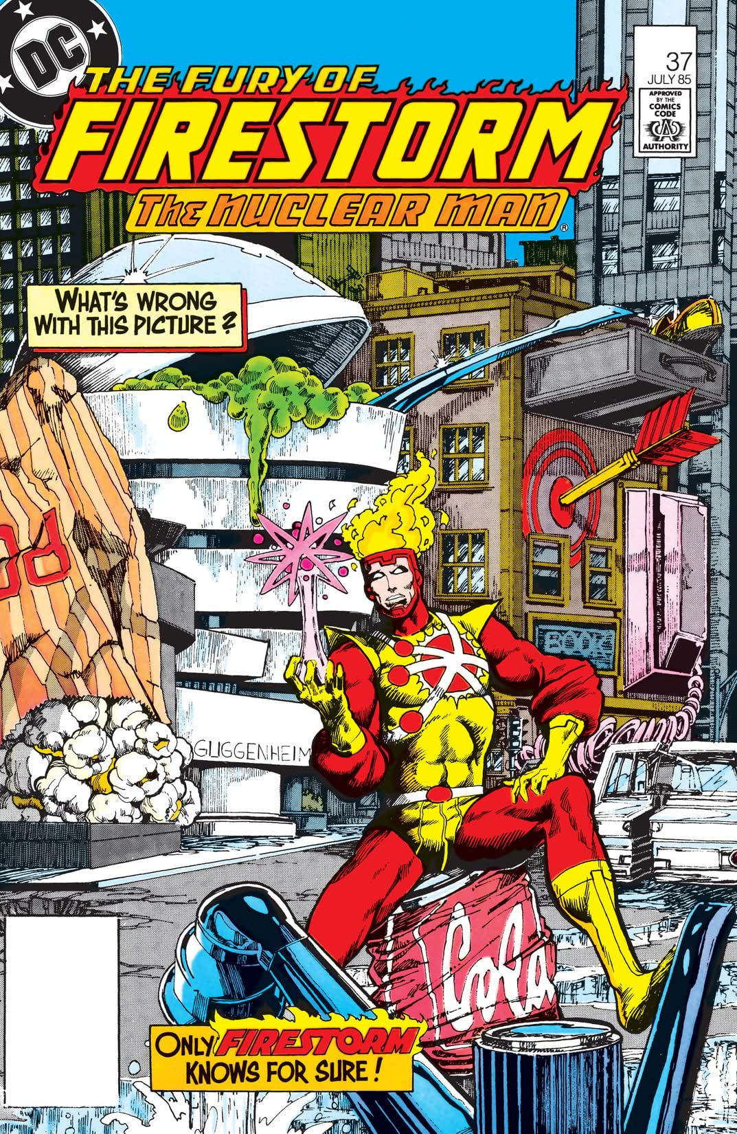 The Fury of Firestorm (1982-1990) #37