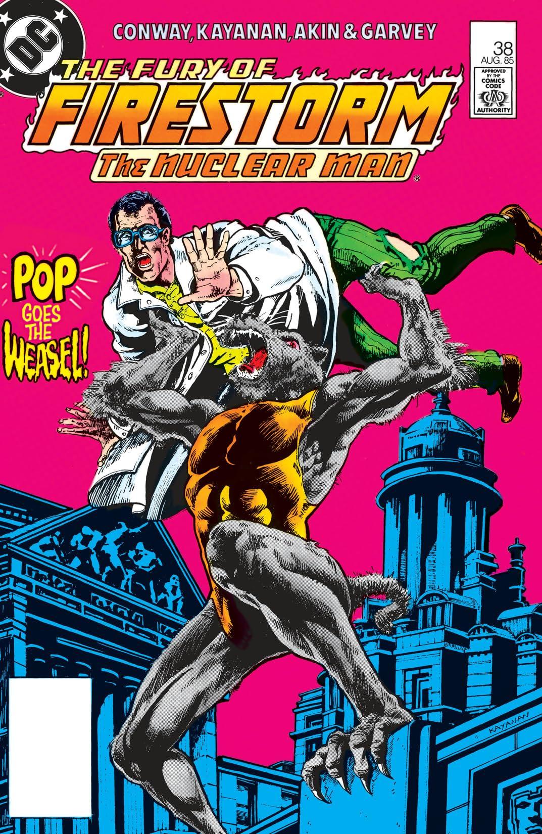The Fury of Firestorm (1982-1990) #38