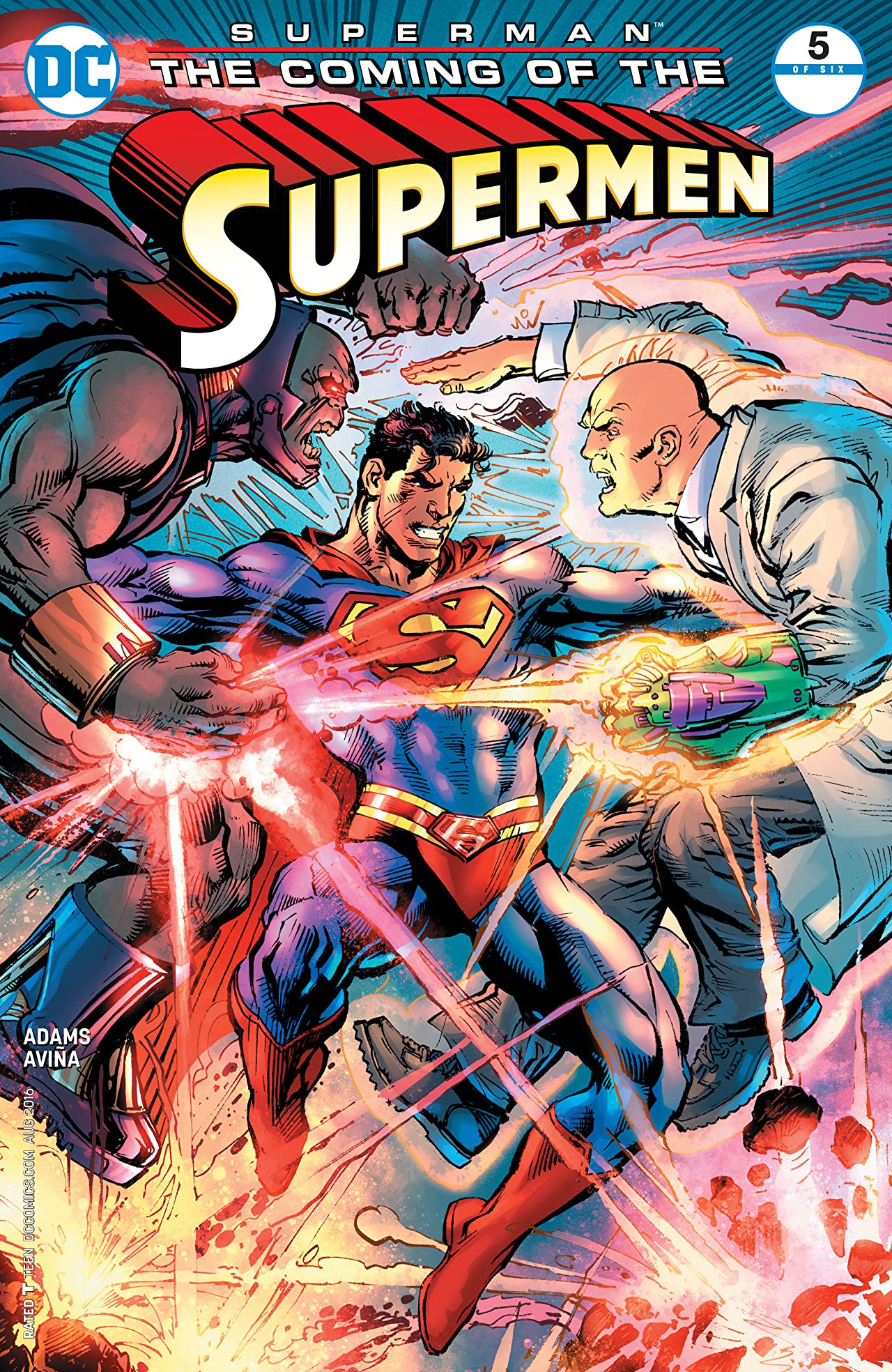 Superman: The Coming of the Supermen (2016) #5