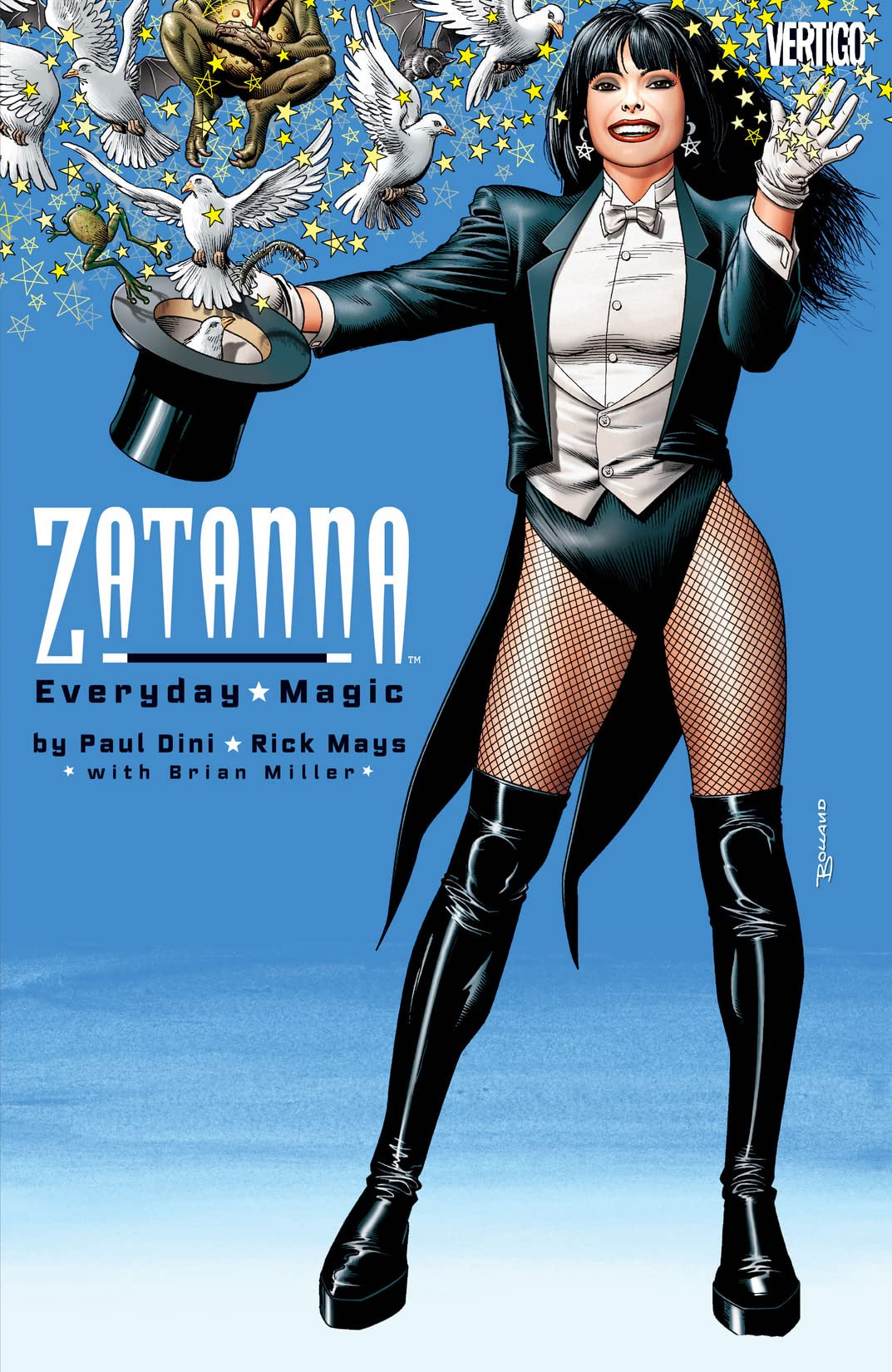 Zatanna: Everyday Magic (2003) #0