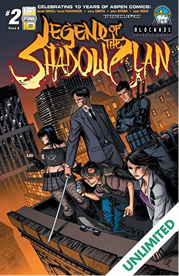 Legend of The Shadow Clan #2 (of 5)