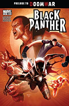 Black Panther (2008-2010) #12