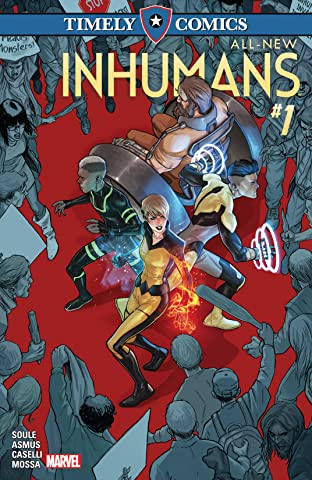Timely Comics: All-New Inhumans No.1