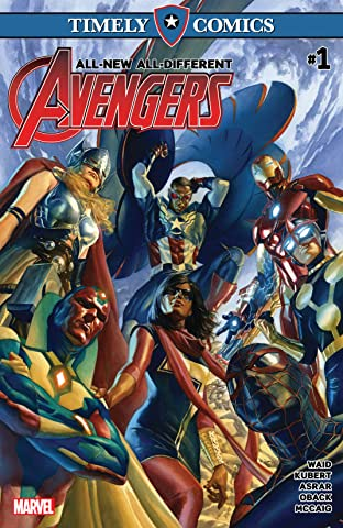Timely Comics: All-New, All-Different Avengers No.1