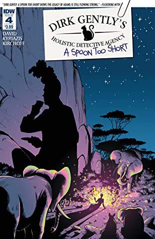 Dirk Gently's Holistic Detective Agency: A Spoon Too Short #4 (of 5)