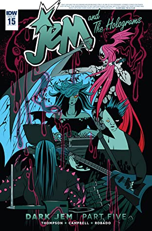 Jem and the Holograms (2015-2017) #15
