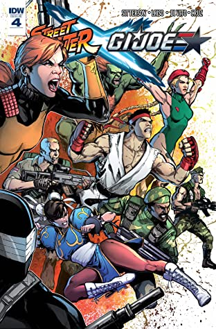 Street Fighter x G.I. Joe #4 (of 6)