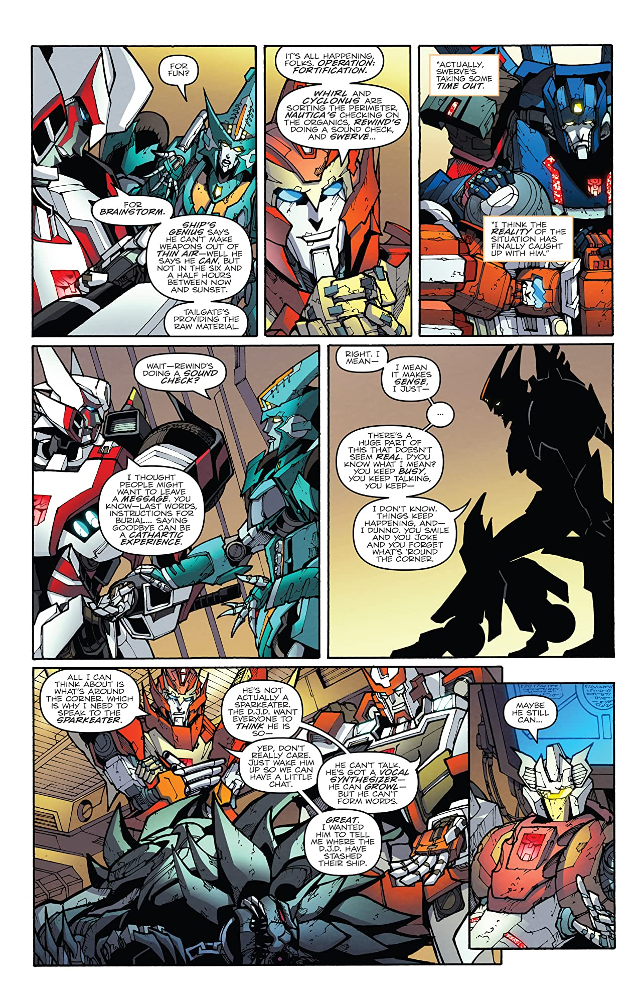Transformers: More Than Meets the Eye (2011-) #53