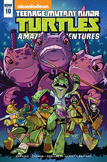 Teenage Mutant Ninja Turtles: Amazing Adventures #10