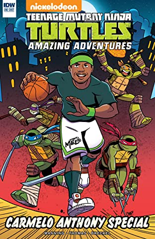 Teenage Mutant Ninja Turtles: Amazing Adventures: Carmelo Anthony Special