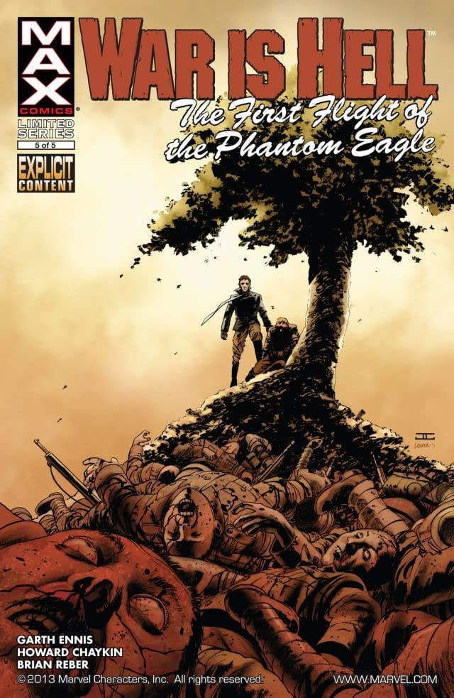 War Is Hell: The First Flight of the Phantom Eagle #5 (of 5)