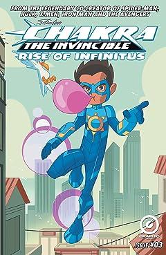 Stan Lee's Chakra The Invincible: Rise of Infinitus #3