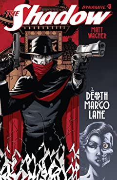 The Shadow: The Death of Margot Lane #3: Digital Exclusive Edition