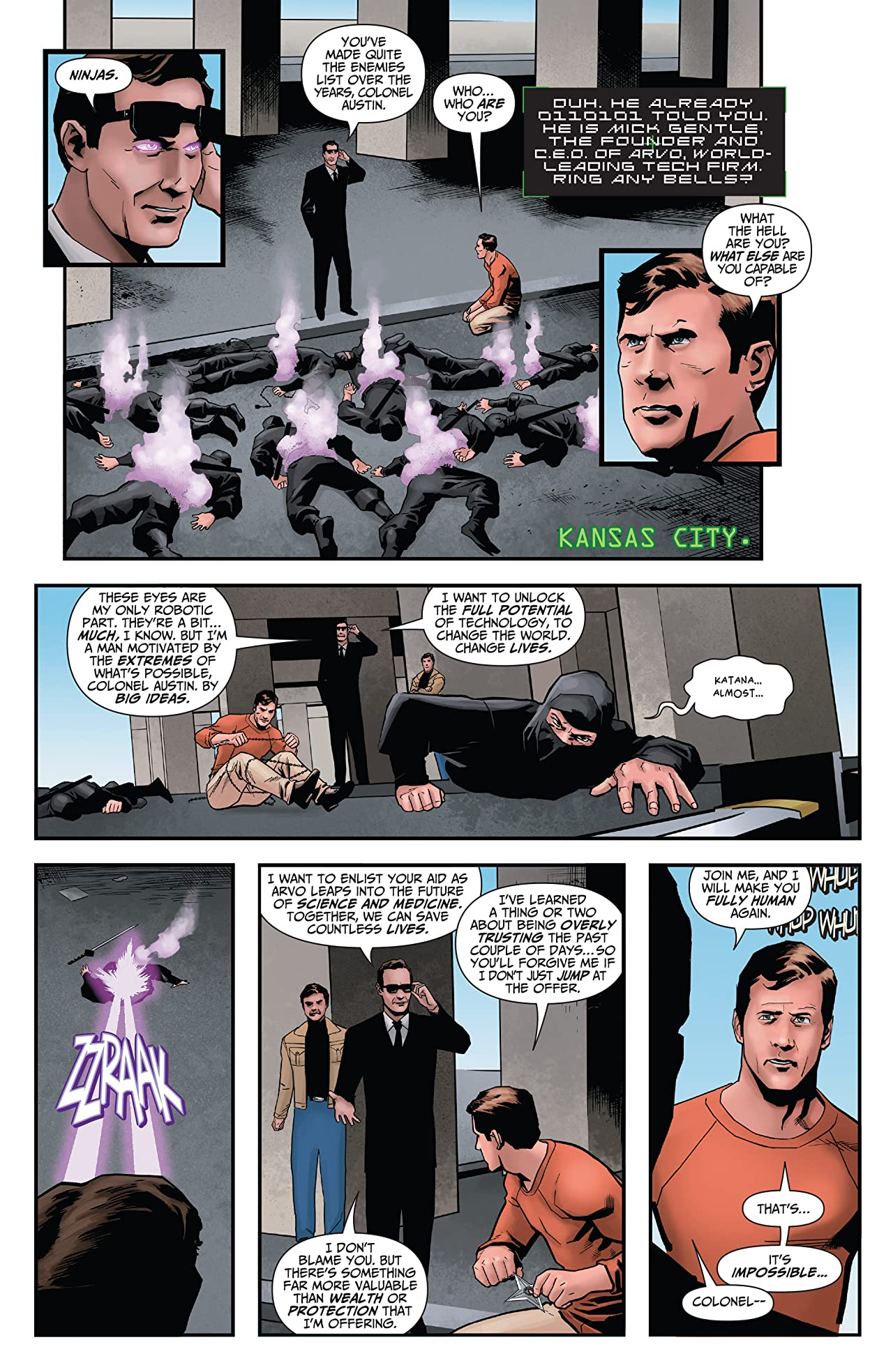The Six Million Dollar Man: Fall of Man #2: Digital Exclusive Edition