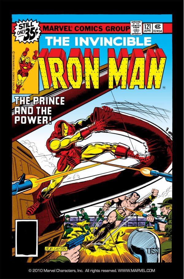 Iron Man (1968-1996) #121