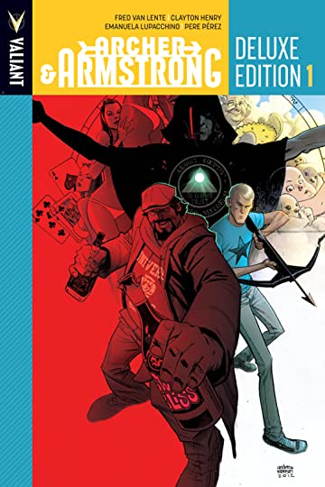 Archer & Armstrong Deluxe Edition Vol. 1