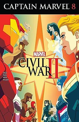 Captain Marvel (2016) #8