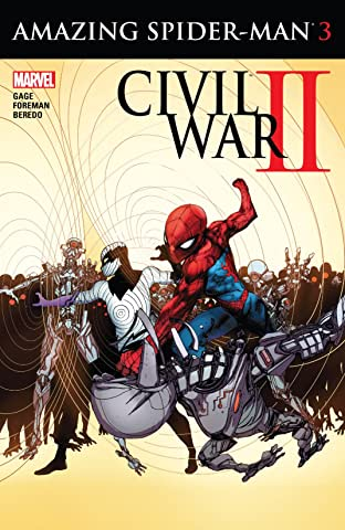 Civil War II: Amazing Spider-Man (2016) No.3 (sur 4)