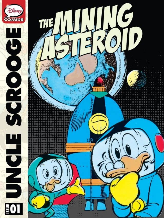 Scrooge McDuck and the Mining Asteroid