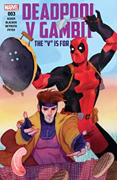Deadpool v Gambit (2016) #3 (of 5)