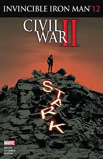 Invincible Iron Man (2015-2016) #12