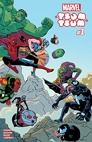 Marvel Tsum Tsum (2016) #1 (of 4)
