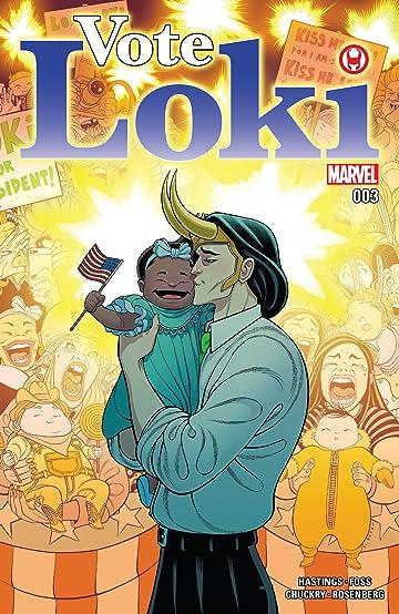 Vote Loki (2016) #3 (of 4)