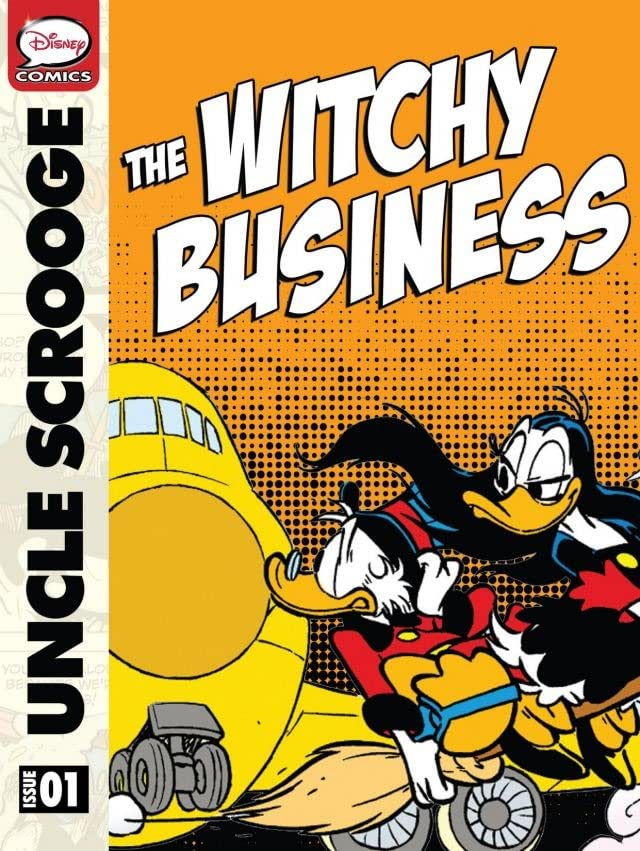 Scrooge McDuck and the Witchy Business