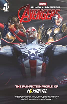 All-New, All-Different Avengers (2015-2016) Annual #1