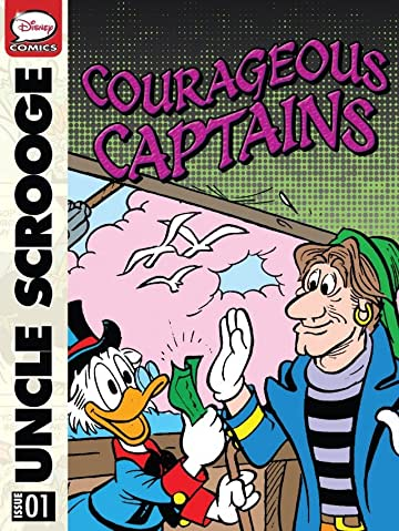 Scrooge McDuck in Courageous Captains