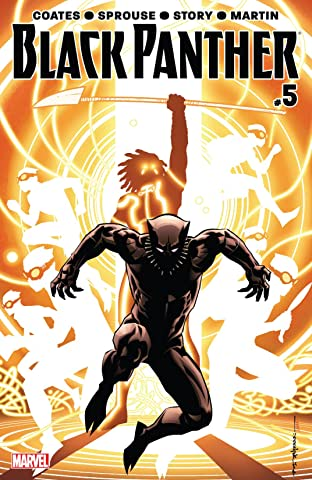 Black Panther (2016-2018) No.5