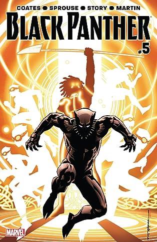 Black Panther (2016-2018) #5