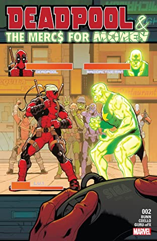 Deadpool & The Mercs For Money (2016-2017) #2