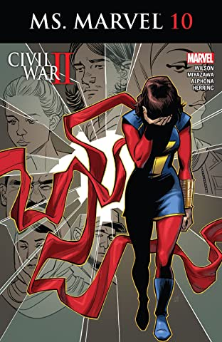 Ms. Marvel (2015-2019) #10