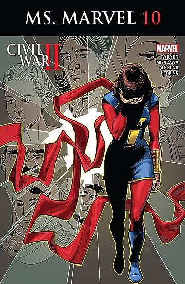 Ms. Marvel (2015-2019) #10