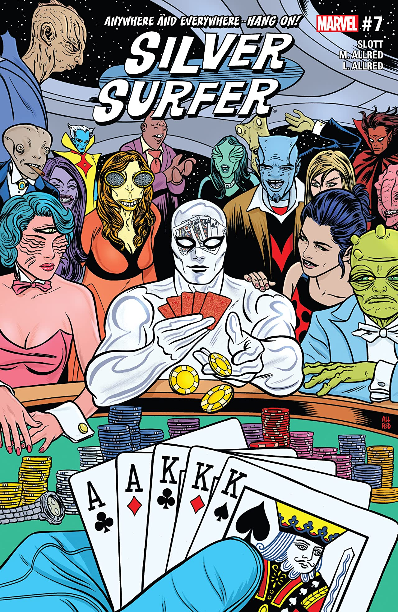 Silver Surfer (2016-2017) #7