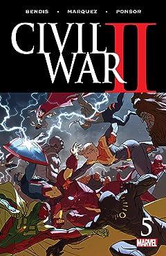 Civil War II (2016) No.5 (sur 8)